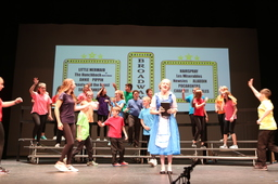 Middle Schoolers Perform Showstoppers Revue