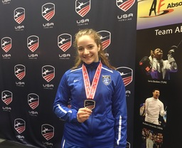 Maria Theodore '19 Wins Medal at Junior Olympics