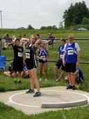MS Track & Field Team Competes in State Championships