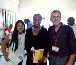 Rooney delivers policy paper to Haitian Studies Association