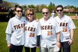 Thayer names baseball field in honor of Justin A. Lloyd '12