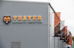 Home, sweet home: General's Council Reception celebrates Thayer Sports Center, Valicenti Rink