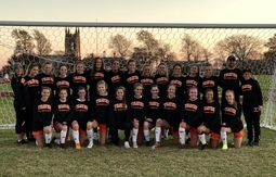 Girls varsity soccer wins its first-ever ISL Championship