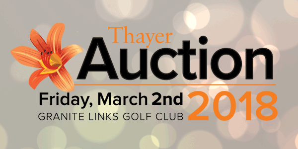 Thayer Auction 2018