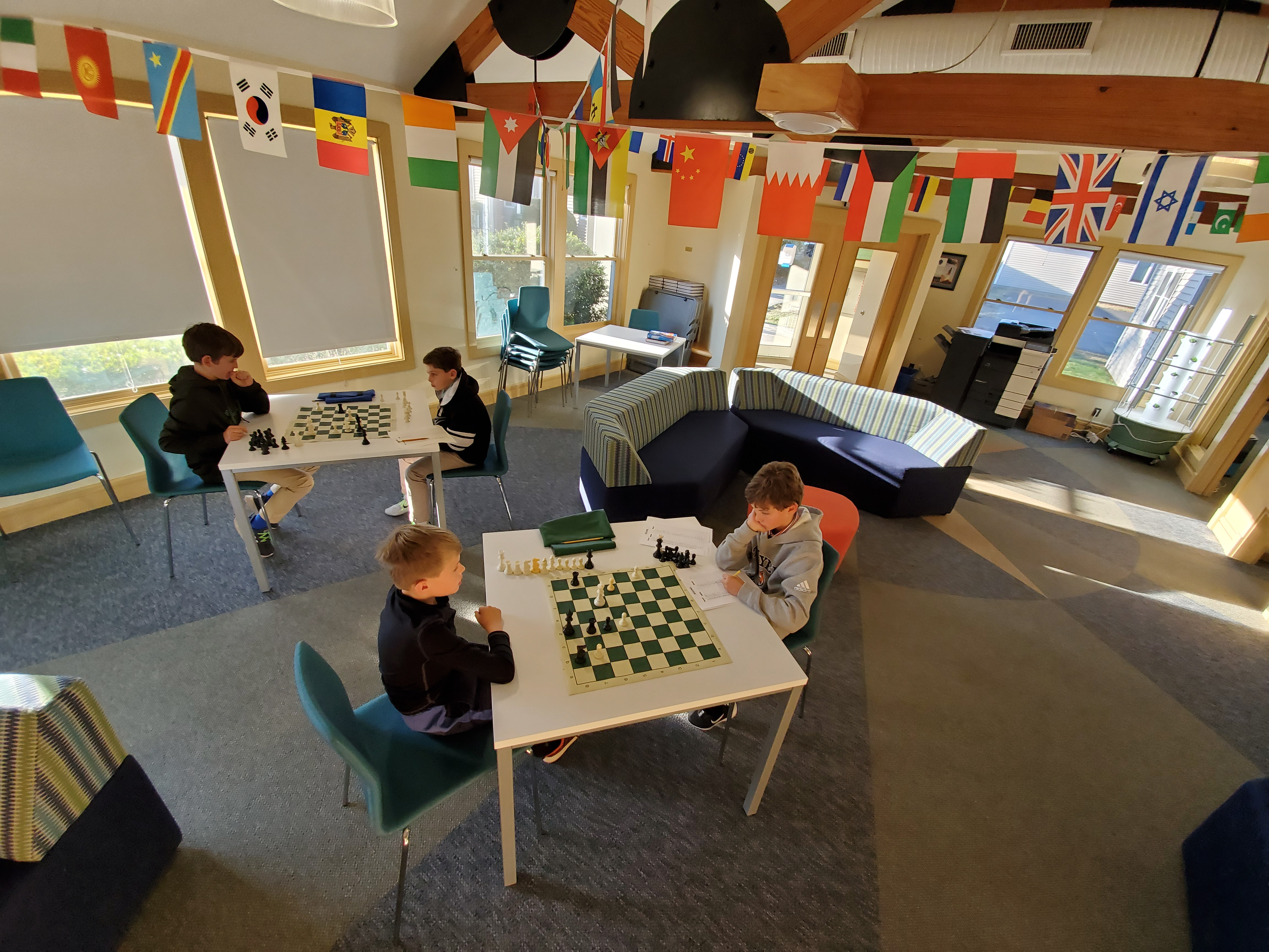 Thayer Academy Chess Club 1