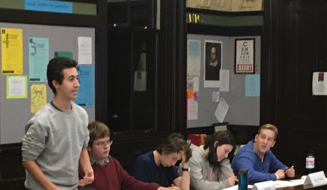Thayer Academy Model United Nations 1
