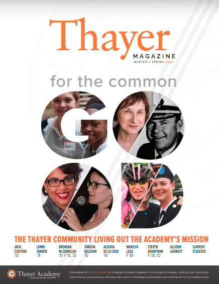 Thayer Magazine Winter/Spring 2018