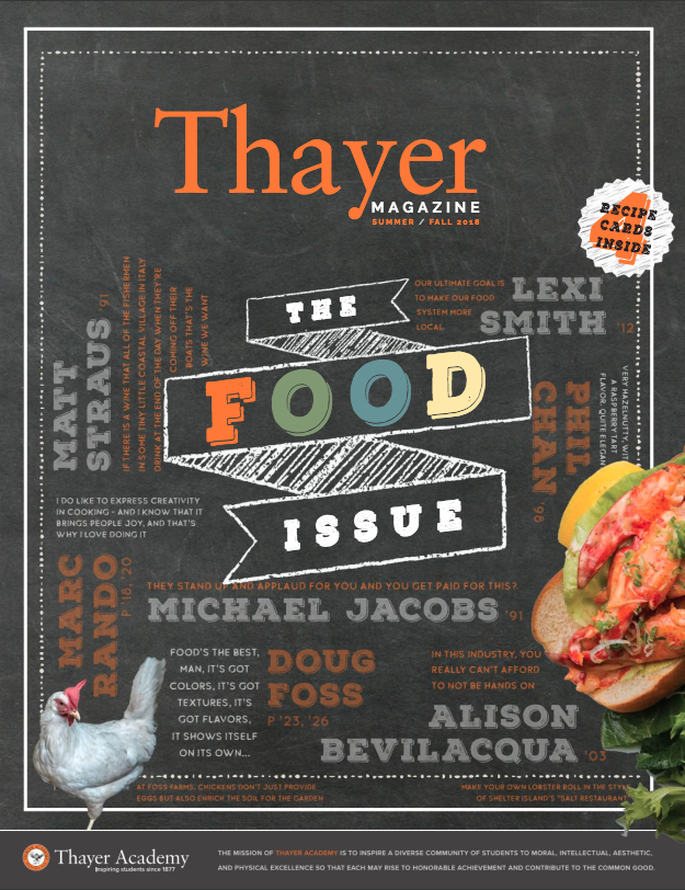 Thayer Magazine Summer/Fall 2018