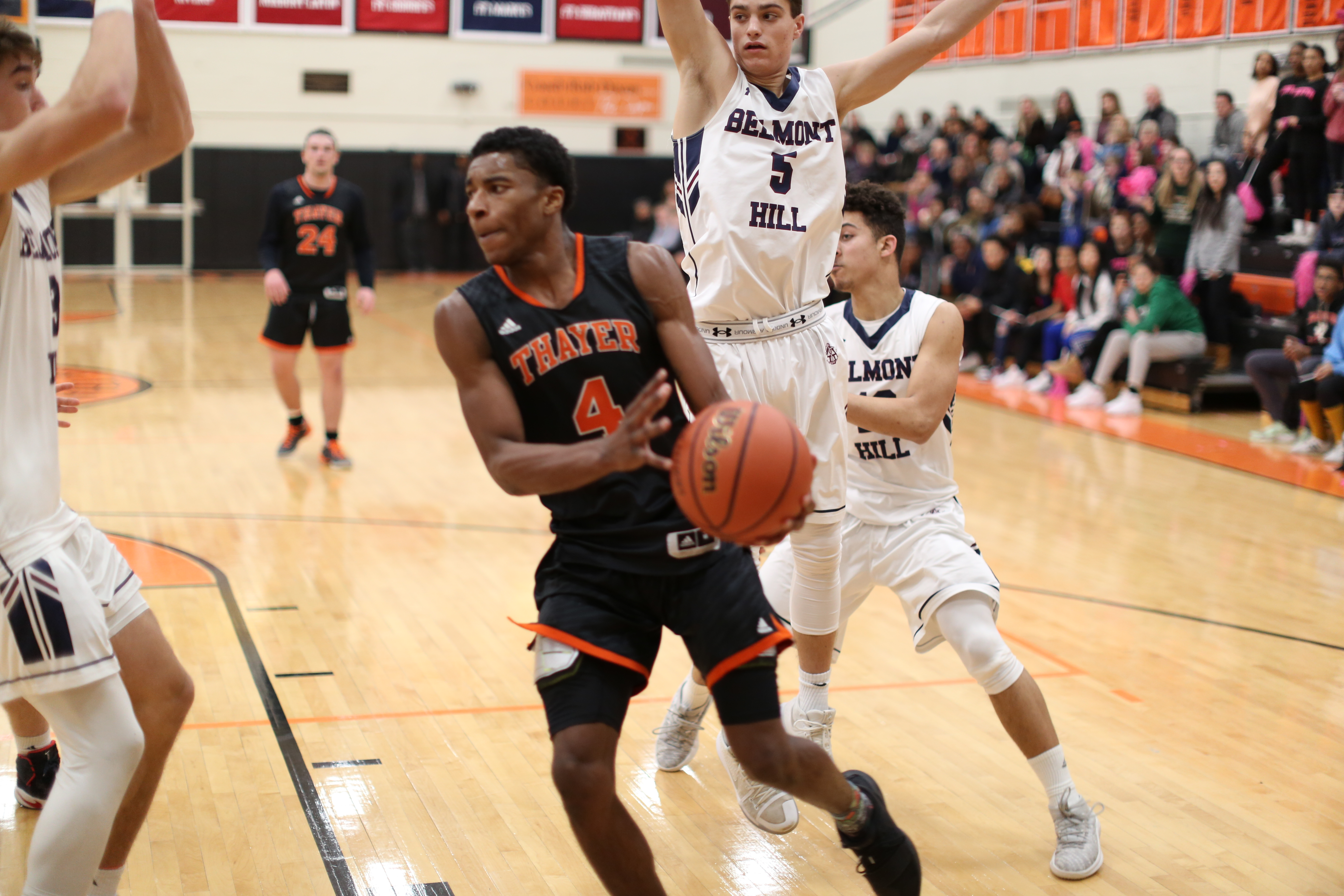 Thayer Academy Moses Flowers basketball