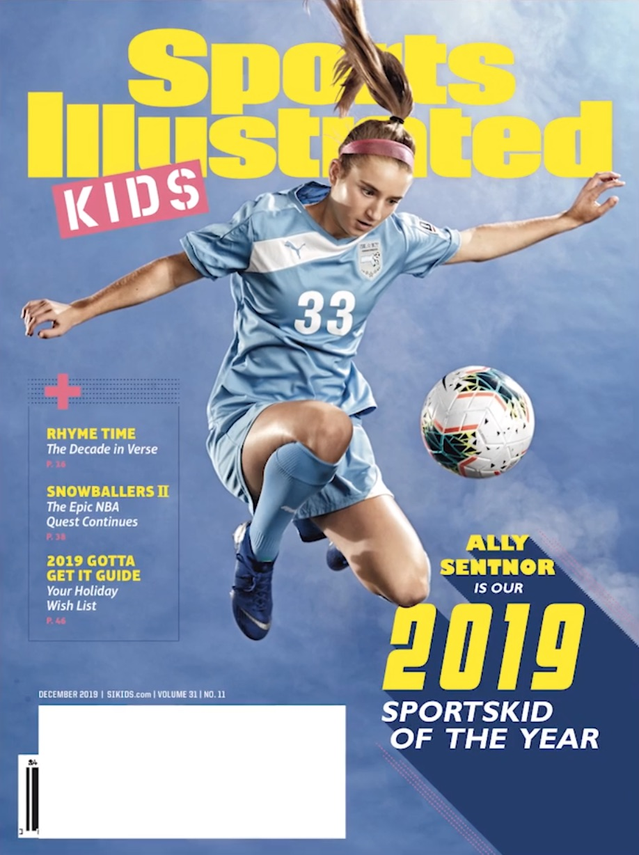 Ally Sentnor Sports Illustrated for Kids Cover