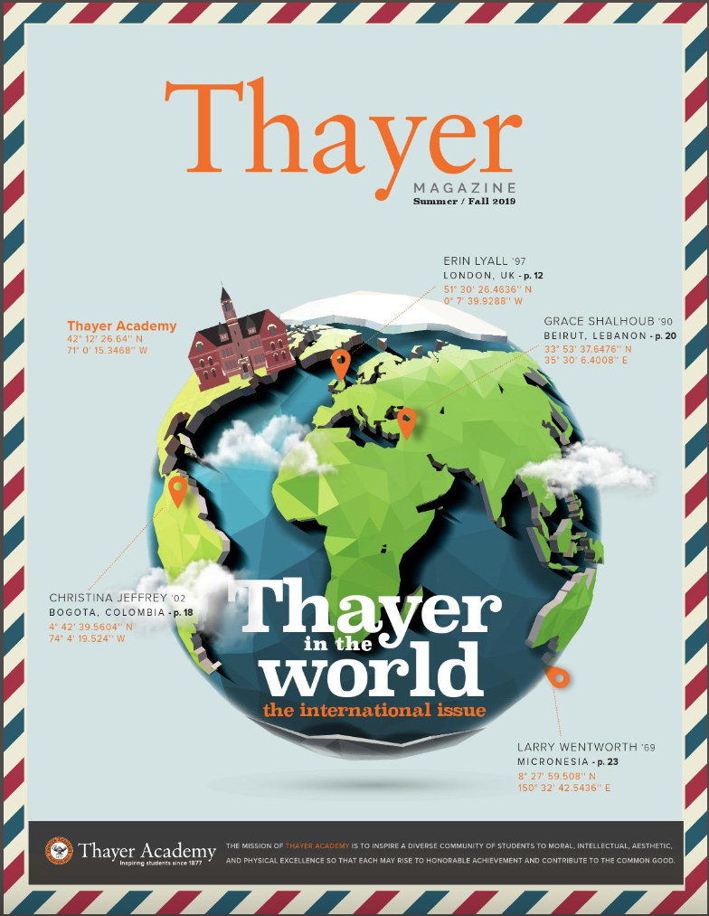 Thayer Magazine Cover