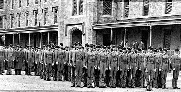 Soldiers at West Point