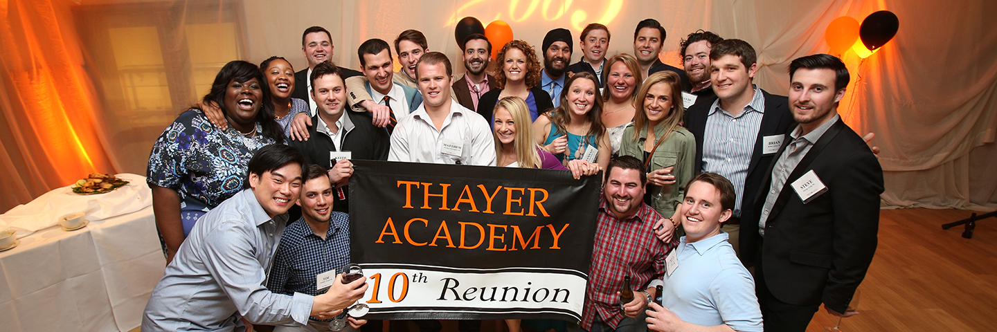 Thayer Academy 10th Class Reunion